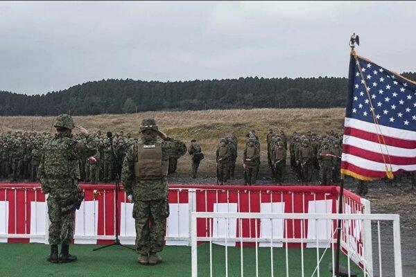 رزمایش مشترک نظامی ژاپن و آمریکا برای مقابله احتمالی با چین
