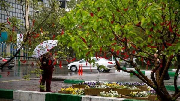 هوای بهاری تهران در شرایط قابل قبول است
