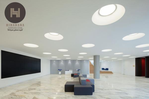 بازسازی و طراحی داخلی اداری دفتر زد در بژینگ چین