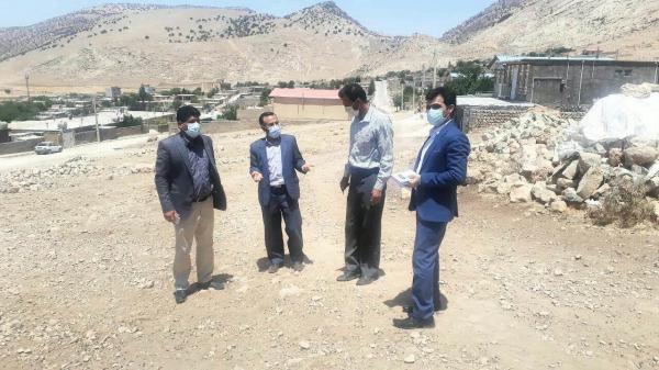 بازدید از زیرساخت های روستای زنجیره علیا