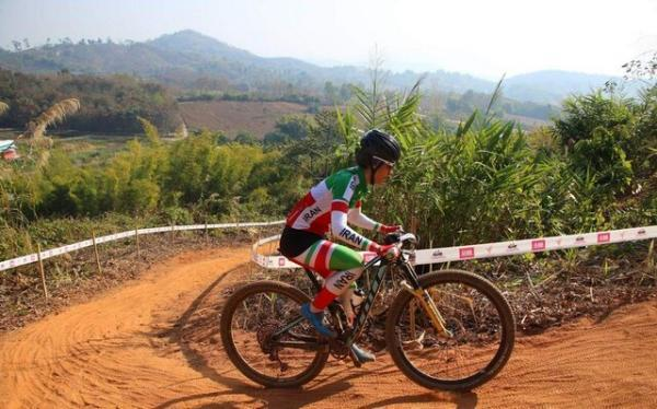 دختر رکابزن ایران در مسابقات سوئیس پنجاه و سوم شد