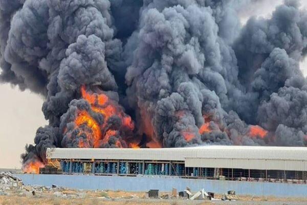تور دبی ارزان: وقوع یک آتش سوزی عظیم در مجاورت سواحل شمالی امارات